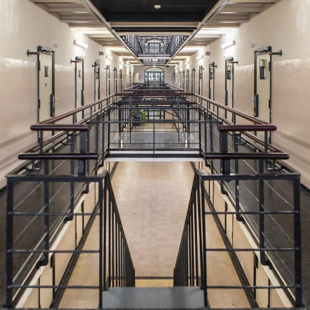 Vleugel B gevangenis Wolvenplein